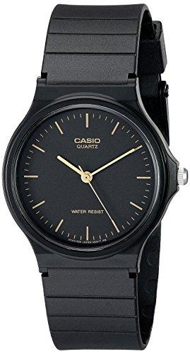 (Casio Men's MQ24-1E Black Resin Watch)