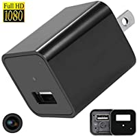 Hidden Cameras Charger Adapter, iMaxios 1080P HD USB Wall Charger Hidden Camera/Nanny Spy Camera Adapter with 32G Internal Memory - Update Version