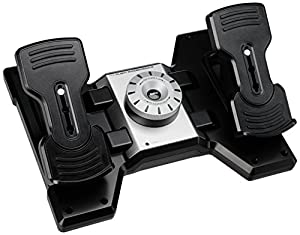 Saitek Pro Flight Rudder Pedals für PC (USB 2.0)