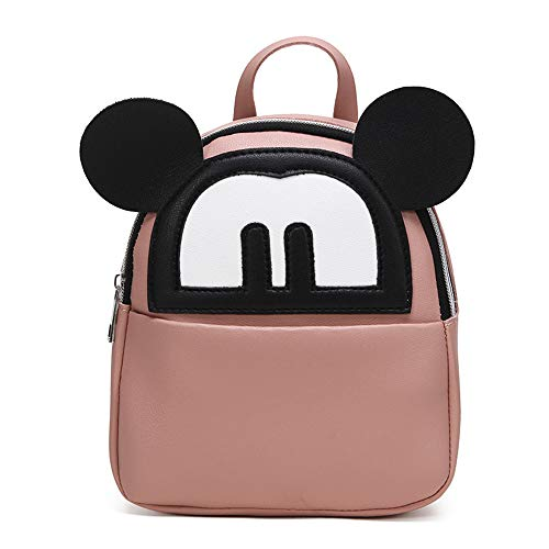 Mini Mouse Backpack Purse Cute Lightweight PU Leather Travel Daypacks]()