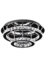36W Diamond kroonluchter stijl LED kristallen plafondlamp hanglamp dimbaar verlichting kristal kroonluchter