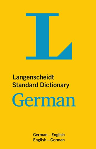 Langenscheidt Standard Dictionary German (Langenscheidt Standard Dictionaries)