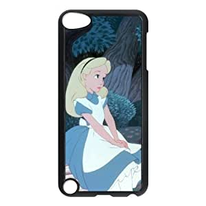 ipod touch 5 phone cases Black Alice cell phone cases Beautiful gift YTRE9368070