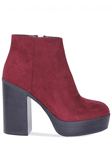 Faux LAMODA Ankle Oxblood Boots Creep in Womens Platform Suede wq7t7xAY
