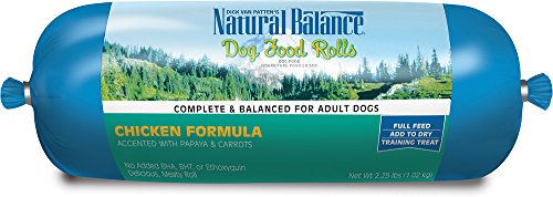 Natural Balance 3.5lb Chicken Dog Food Roll (3 pack)