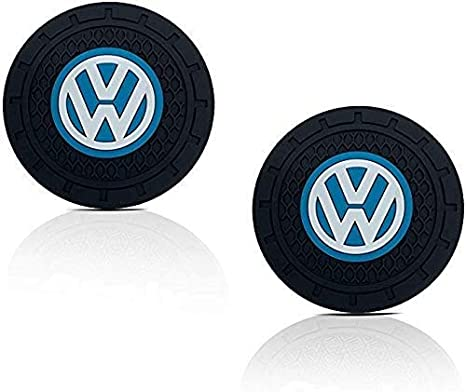 AMG Shum Car Coasters for Cup Holders,2 Pcs 2.75 inch Silicone car Accessories Interior Coaster for AMG Accessories,Universal Car Cup Holder Coasters Mat for Mercedes Benz car Accessories.