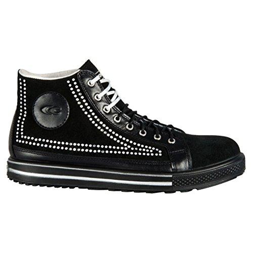 Cofra Point S1P SRC par de zapatos de seguridad talla 37NEGRO