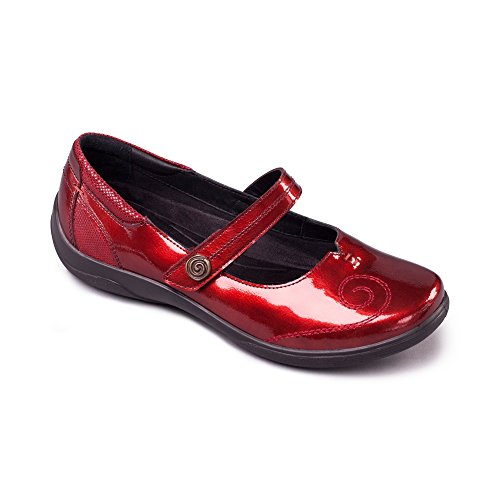 Lyric Patent Jane Rot Red Mary Padders Damen Halbschuhe g06dgz
