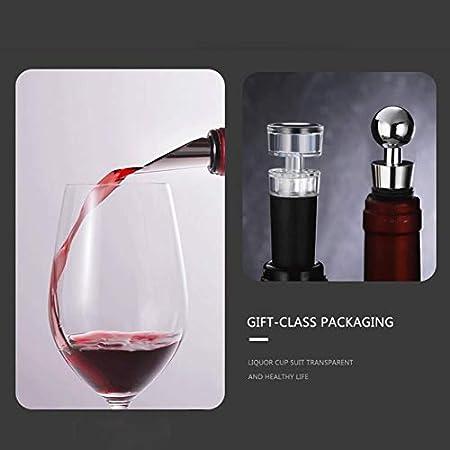 HH- Abrebotellas Sacacorchos de ala de Abridor de Botellas de Cerveza de Vino Tinto para Cocina, Restaurante Y Bares, Sacacorchos Manual Premium - Negro (Color : Package 4)