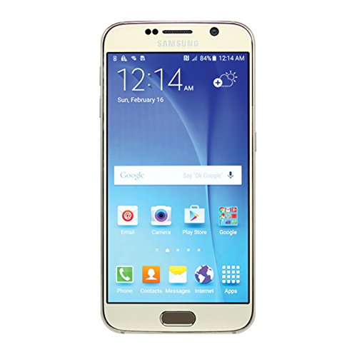 Samsung Galaxy S6 SM-G920V 32GB Gold Smartphone for Verizon (Renewed) (The Best Verizon Smartphone)