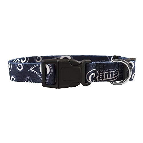 Littlearth NFL Los Angeles Rams Pet Team Collar by Littlearth - LIWXY
