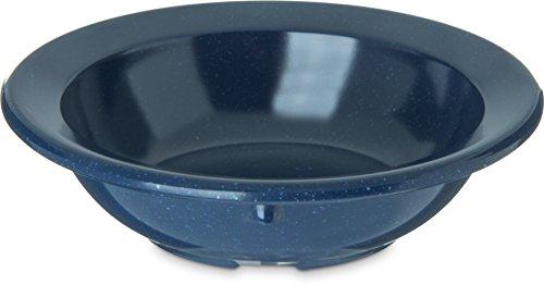 Carlisle 4353235 Dallas Ware Melamine Fruit Bowl, 3.5 oz, Café Blue (Pack of 48)