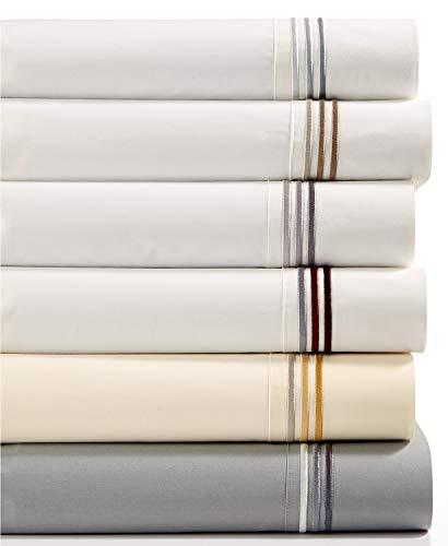 Hugo Boss Classiques Cotton Queen Flat Sheet White / White