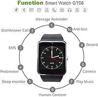 HCWF Smart Watch Plus Correa metálica Bluetooth Reloj de Pulsera ...