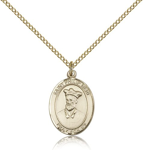 Philip Neri Pendant - Gold Filled St. Philip Neri Pendant