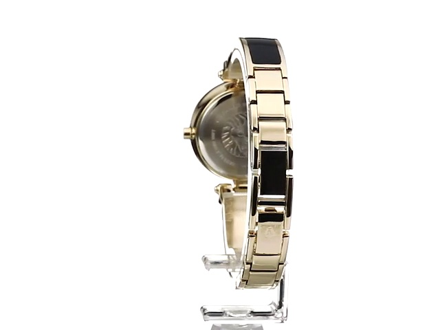 Anne Klein Women's Diamond-Accented Bangle Watch 6