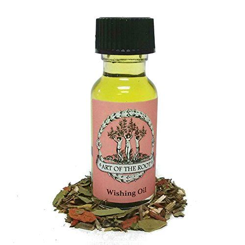 Wishing Oil 1/2 oz for Obtaining One's Desires, Goals or Desires Wiccan Pagan Hoodoo Conjure