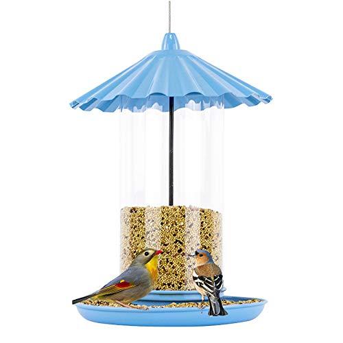 - Sungmor Blue Baking Varnish Metal Bird Feeder for Outside | 11