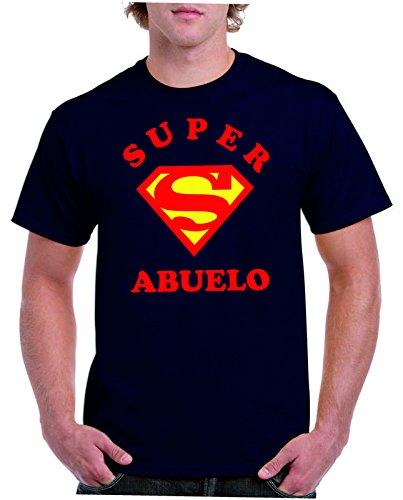 Camisetas divertidas Parent Super Abuelo - para Hombre Camiseta: Amazon.es: Ropa y accesorios