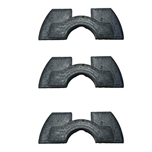 Jialili for Xiaomi Mijia M365 M187 Scooter Rubber Vibration Dampers 3PC - Damper Circuit