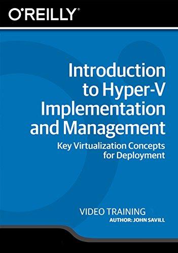 Introduction to Hyper-V Implementation and Management [Online Code]