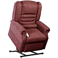 Mega Motion Serene Infinite Position Reclining Lift Chair - Burgundy