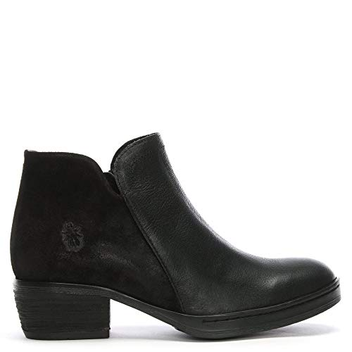In In Nera Boots Pelle Pelle Fly Nera London Cled Ankle wq0171O