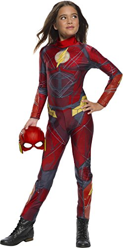 Rubie's Justice League Movie Child's The Flash Jumpsuit Costume, -