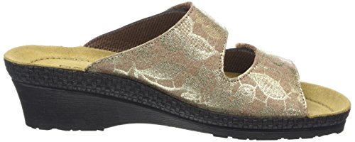 84 Cailloux 1466 Femme Mules Marron Rohde ICfpwqxXI