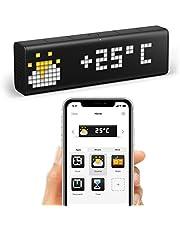 LaMetric Time WLAN-klok voor Smart Home (werkt met Amazon Alexa, Netatmo, Sonos, Philips Hue, IFTTT en meer)