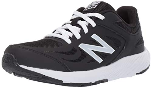 New Balance Boys' 519v1 Running Shoe, BLACK, 4M