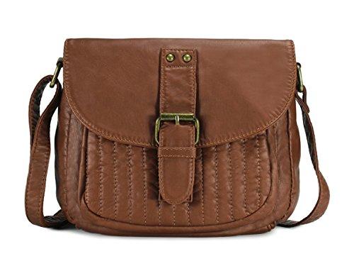 Scarleton Trendy Stitched Stripes Crossbody Bag H1981