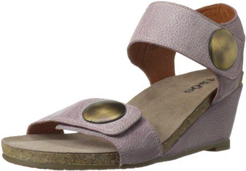 Taos Women's Carousel Wedge Sandal,Dusty Rose,40 EU/9-9.5 M US