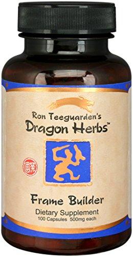 Dragon Herbs Frame Builder — 500mg – 100 Vegetarian Capsules