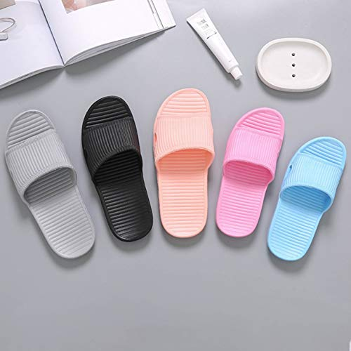 Shoes Summer Bathroom Skidproof Casual Home Women Indoor Men Flat Slippers Slippers Sandals Bathroom Beach Unisex qCFwE0p