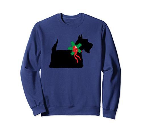 Christmas Scottish Terrier Dog Gift Sweatshirt