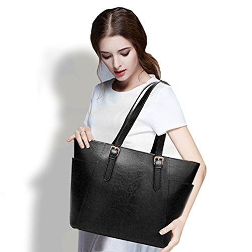 Tote Cocifer Purse Messenger Women Handbags 168 Satchel Handle Bag Black Shoulder Top zf4qzxOg