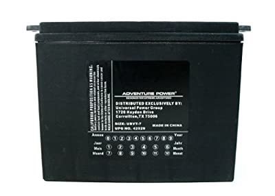 UPG UBVT-7 Adventure Power V-Twin Battery
