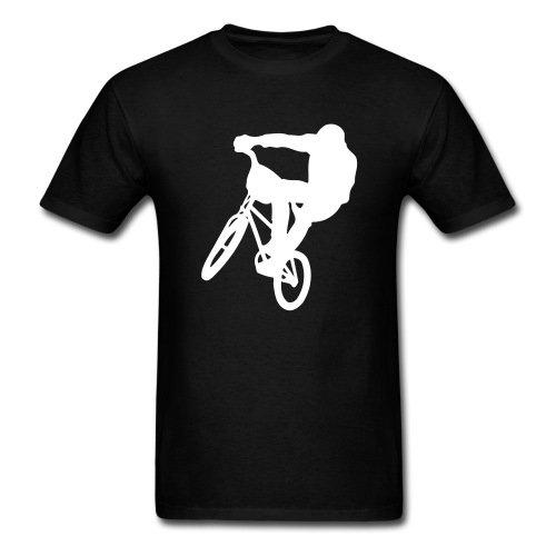 Spreadshirt Men's BMX T-Shirt, black, XL