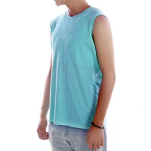 BaronHong Calidad Carpeta del pecho Chica poco femenina Algodón Camiseta sin mangas Chaleco Para mujeres