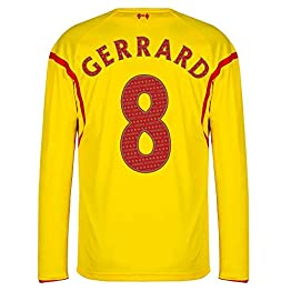 Warrior Liverpool Away Gerrard 8 Legend Maillot 2014 2015