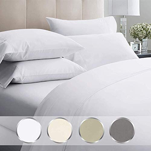 LUXURY BEDDING COLLECTION 100/% COTTON SOLID 1000 TC ALL SIZES AVAILABLE