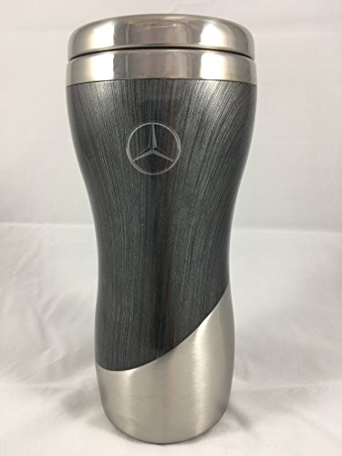 mercedes-benz-double-wall-stainless-steel-and-wood-grain-tumbler-coffee-mug-grey
