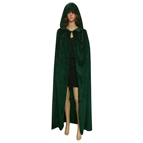 Smartcoco Halloween Cosplay Hooded Sleeveless Cloak Adult Halloween Party Costumes (Halloween Cistumes)