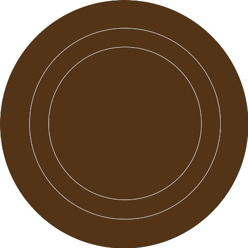 Espresso Brown Concentric Dot - Dot Concentric