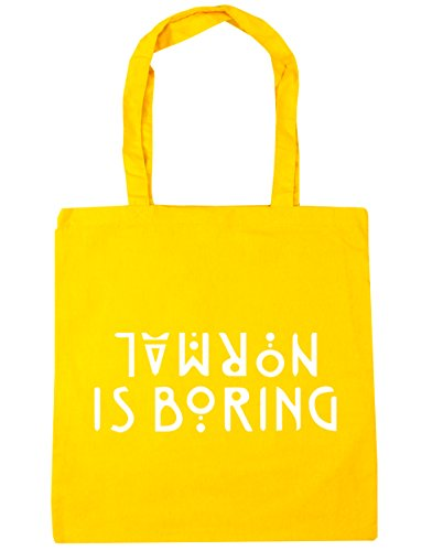Normal Gym 42cm Beach boring HippoWarehouse Tote Shopping 10 is litres Yellow Bag x38cm XSwOqxq1