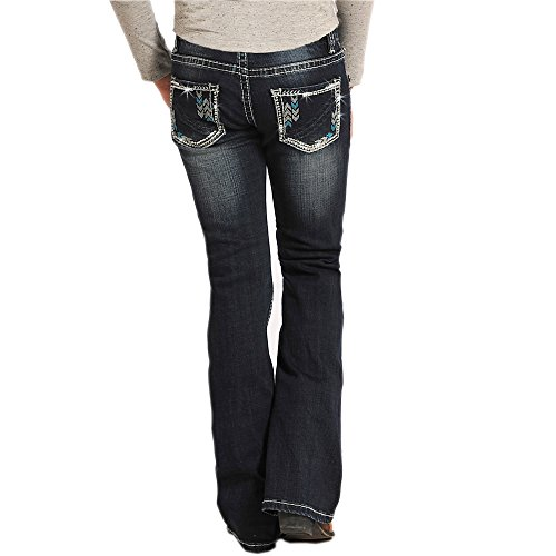Rock and Roll Cowigrl Rhinestone Chevron (Rhinestone Girls Jeans)