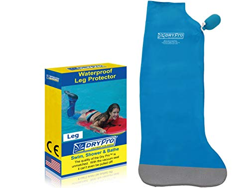 (DryPro Waterproof Full Leg Cast Cover, Medium )