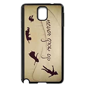 Samsung Galaxy Note 3 Cell Phone Case Black Peter Pan YNS Phone Case For Boys Hard