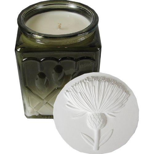 plain wax candle - 1